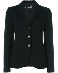 Женский черный пиджак от Love Moschino