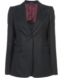 Женский черный пиджак от Maison Margiela