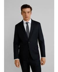 Мужской черный пиджак от Mango Man