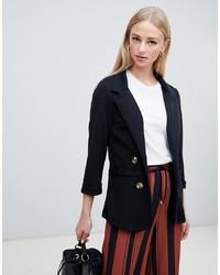 Женский черный пиджак от New Look