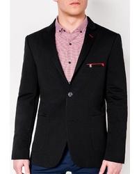 Мужской черный пиджак от OMBRE