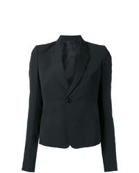 Женский черный пиджак от Rick Owens
