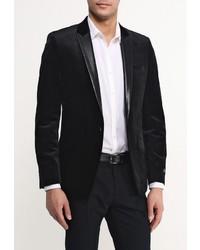 Мужской черный пиджак от River Island