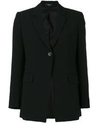 Женский черный пиджак от Theory