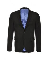 Мужской черный пиджак от United Colors of Benetton