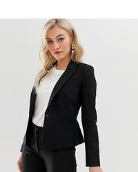 Женский черный пиджак от Y.A.S Petite