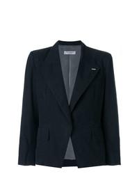 Женский черный пиджак от Yves Saint Laurent Vintage