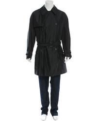 Мужской черный плащ от Dolce & Gabbana