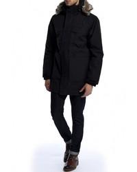 Мужской черный пуховик от North Face