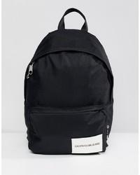 Мужской черный рюкзак из плотной ткани от Calvin Klein Jeans