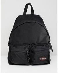 Мужской черный рюкзак из плотной ткани от Eastpak