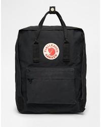 Женский черный рюкзак из плотной ткани от Fjäll Räven