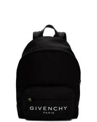 Мужской черный рюкзак из плотной ткани от Givenchy