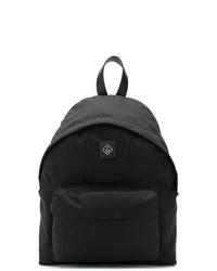 Мужской черный рюкзак из плотной ткани от Golden Goose Deluxe Brand