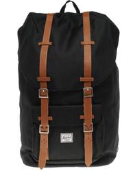 Мужской черный рюкзак из плотной ткани от Herschel