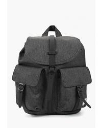 Женский черный рюкзак из плотной ткани от Herschel Supply Co.