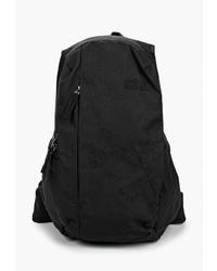 Женский черный рюкзак из плотной ткани от Jack Wolfskin