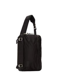 Мужской черный рюкзак из плотной ткани от Master-piece Co