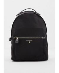 Женский черный рюкзак из плотной ткани от MICHAEL Michael Kors