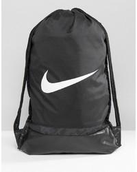 Мужской черный рюкзак из плотной ткани от Nike
