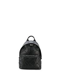 Мужской черный рюкзак из плотной ткани от Philipp Plein