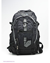 Мужской черный рюкзак из плотной ткани от Polar