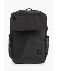 Женский черный рюкзак из плотной ткани от Reebok
