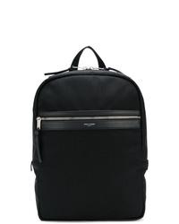 Мужской черный рюкзак из плотной ткани от Saint Laurent