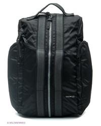Мужской черный рюкзак от Geox