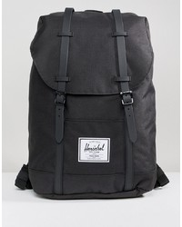 Мужской черный рюкзак от Herschel Supply Co.