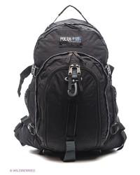 Мужской черный рюкзак от Polar