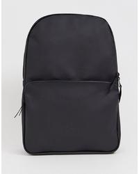 Мужской черный рюкзак от Rains