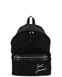 Мужской черный рюкзак от Saint Laurent