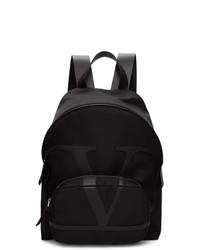 Мужской черный рюкзак от Valentino