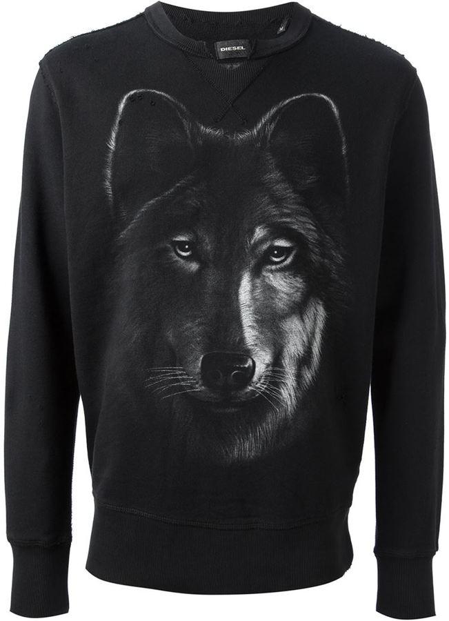 Картинки свитер с волком
