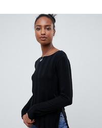 Женский черный свитер с круглым вырезом от Asos Tall