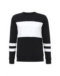 Мужской черный свитер с круглым вырезом от Calvin Klein Jeans