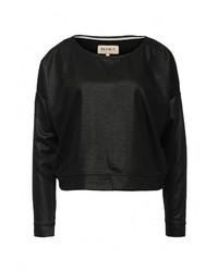 Женский черный свитер с круглым вырезом от Desires
