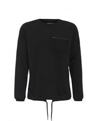 Мужской черный свитер с круглым вырезом от Jack & Jones