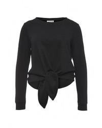 Женский черный свитер с круглым вырезом от Noisy May