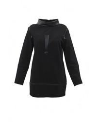 Женский черный свитер с круглым вырезом от Pavel Yerokin