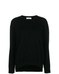 Женский черный свитер с круглым вырезом от Pringle Of Scotland