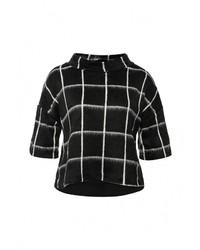 Женский черный свитер с круглым вырезом от Rinascimento