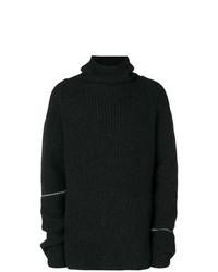 Мужской черный свитер с хомутом от Lost & Found Rooms