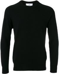Мужской черный свитер от AMI Alexandre Mattiussi