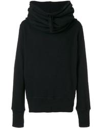 Мужской черный свитер от Ann Demeulemeester