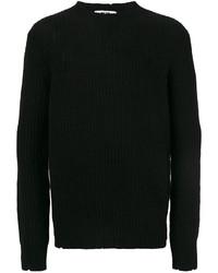 Мужской черный свитер от MSGM