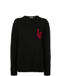 Черный свободный свитер от Adaptation