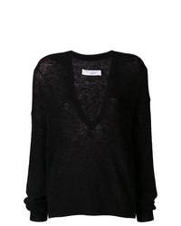 Черный свободный свитер от IRO