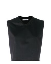 Черный укороченный топ от Givenchy